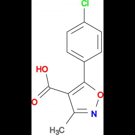 5-(4-Chlorophenyl)-3-methylisoxazole-4-carboxylic acid