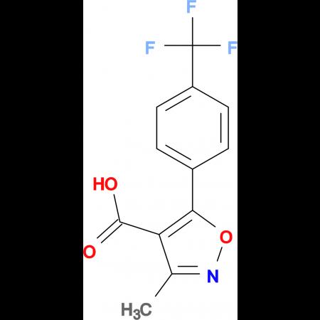 3-Methyl-5-[4-(trifluoromethyl)phenyl]isoxazole-4-carboxylic acid