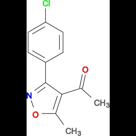 1-[3-(4-Chloro-phenyl)-5-methyl-isoxazol-4-yl]-ethanone