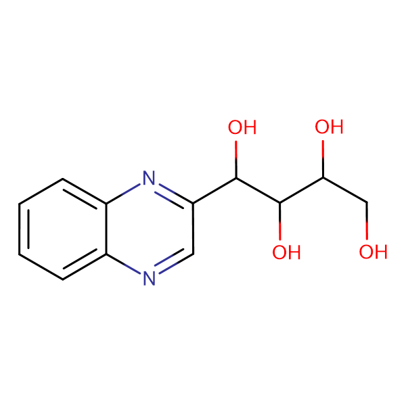 1-Quinoxalin-2-yl-butane-1,2,3,4-tetraol