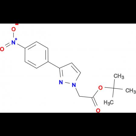 [3-(4-Nitro-phenyl)-pyrazol-1-yl]-acetic acid tert-butyl ester