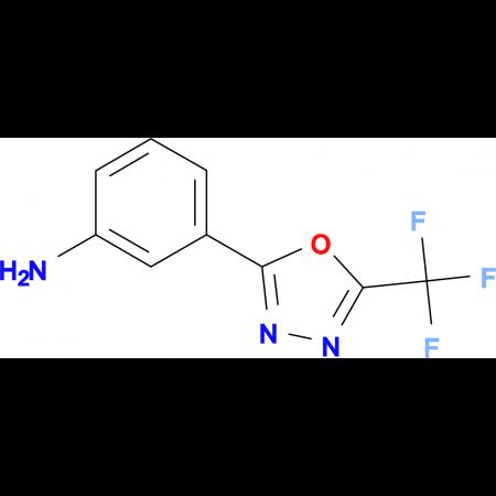3-(5-Trifluoromethyl-[1,3,4]oxadiazol-2-yl)-phenylamine