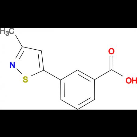 3-(3-Methylisothiazol-5-yl)benzoic acid
