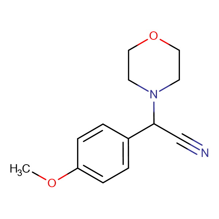 (4-Methoxy-phenyl)-morpholin-4-yl-acetonitrile