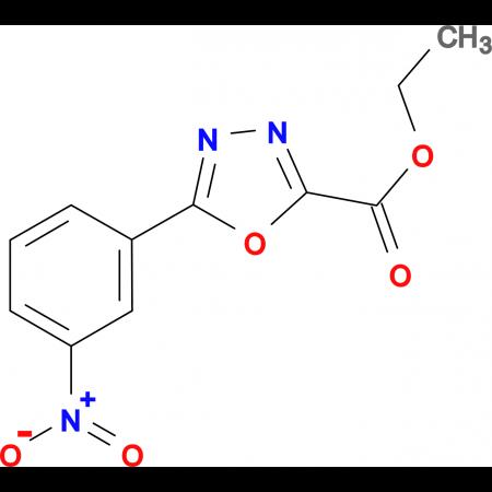 5-(3-Nitro-phenyl)-[1,3,4]oxadiazole-2-carboxylic acid ethyl ester