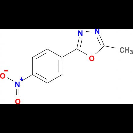 2-Methyl-5-(4-nitro-phenyl)-[1,3,4]oxadiazole