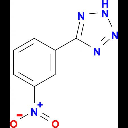 5-(3-Nitro-phenyl)-2H-tetrazole