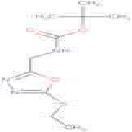 (5-Ethylsulfanyl-[1,3,4]oxadiazol-2-ylmethyl)-carbamic acid tert-butyl ester