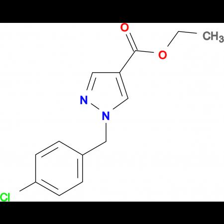1-(4-Chloro-benzyl)-1H-pyrazole-4-carboxylic acid ethyl ester