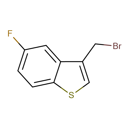 3-Bromomethyl-5-fluoro-benzo[b]thiophene