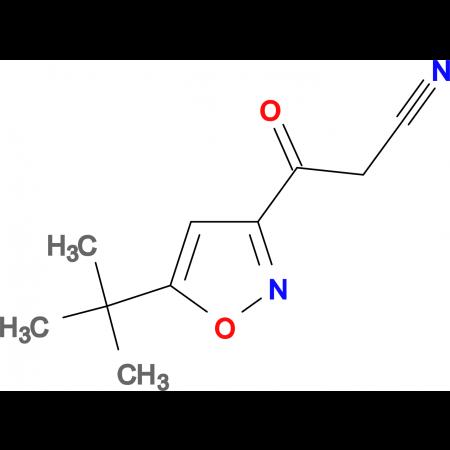 3-(5-tert-Butyl-isoxazol-3-yl)-3-oxo-propionitrile