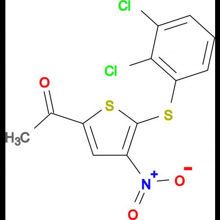 1-[5-(2,3-Dichloro-phenylsulfanyl)-4-nitro-thiophen-2-yl]-ethanone