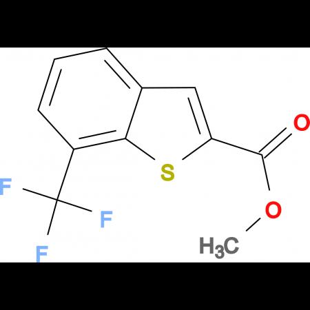 7-Trifluoromethyl-benzo[b]thiophene-2-carboxylic acid methyl ester