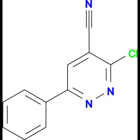 3-Chloro-6-phenyl-pyridazine-4-carbonitrile