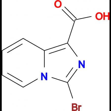 3-Bromoimidazo[1,5-a]pyridine-1-carboxylic acid