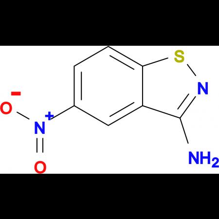 5-Nitrobenzo[d]isothiazol-3-amine