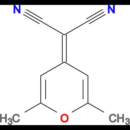 2-(2,6-Dimethyl-4H-pyran-4-ylidene)malononitrile