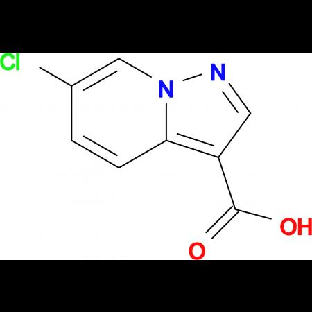 6-Chloropyrazolo[1,5-a]pyridine-3-carboxylic acid