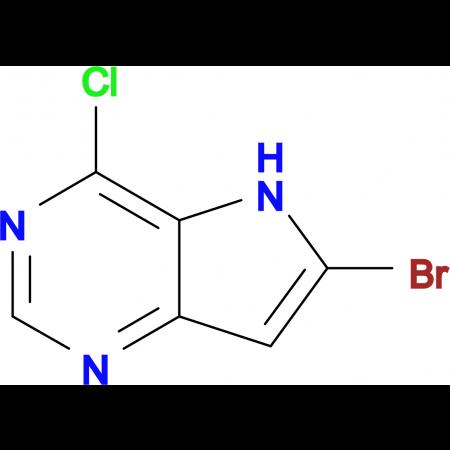6-Bromo-4-chloro-5H-pyrrolo[3,2-d]pyrimidine