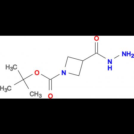 tert-Butyl 3-(hydrazinecarbonyl)azetidine-1-carboxylate