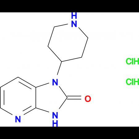 1-(Piperidin-4-yl)-1H-imidazo[4,5-b]pyridin-2(3H)-one dihydrochloride