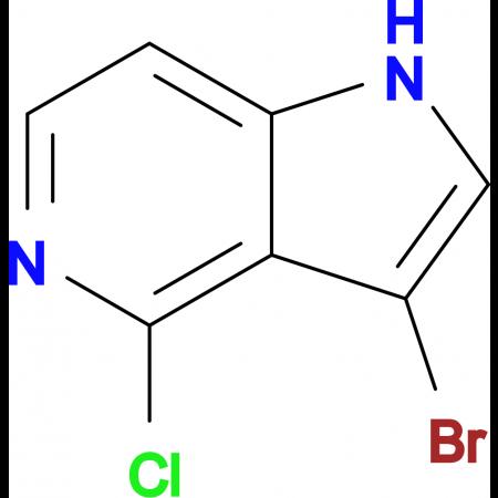 3-Bromo-4-chloro-1H-pyrrolo[3,2-c]pyridine