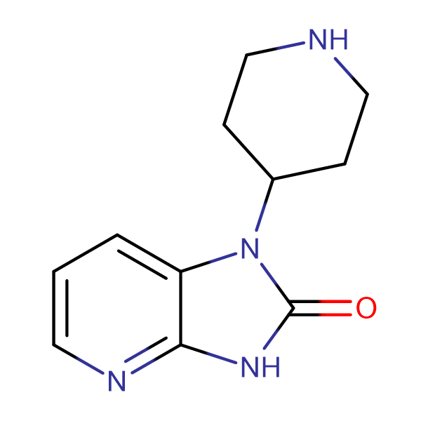 1-(Piperidin-4-yl)-1H-imidazo[4,5-b]pyridin-2(3H)-one