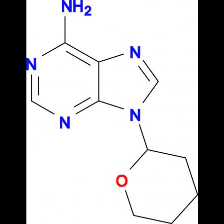 9-(Tetrahydro-2H-pyran-2-yl)-9H-purin-6-amine
