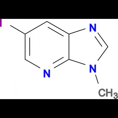 6-Iodo-3-methyl-3H-imidazo[4,5-b]pyridine