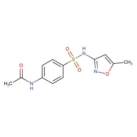 N-(4-(N-(5-Methylisoxazol-3-yl)sulfamoyl)phenyl)acetamide