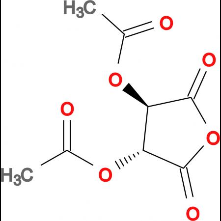 (3R,4R)-2,5-Dioxotetrahydrofuran-3,4-diyl diacetate