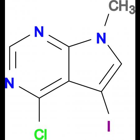 4-Chloro-5-iodo-7-methyl-7H-pyrrolo[2,3-d]pyrimidine