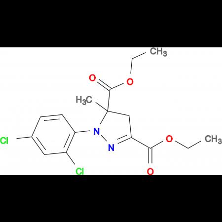Diethyl 1-(2,4-dichlorophenyl)-5-methyl-4,5-dihydro-1H-pyrazole-3,5-dicarboxylate