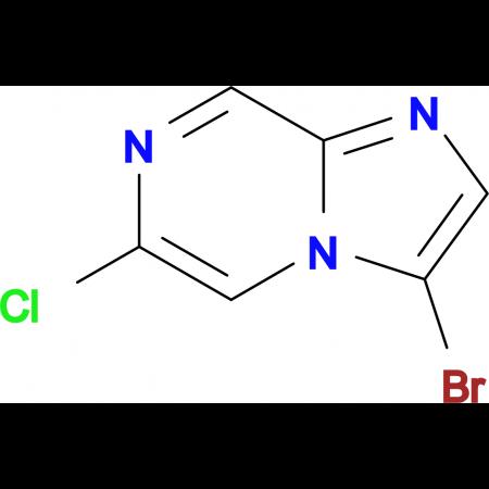3-Bromo-6-chloroimidazo[1,2-a]pyrazine