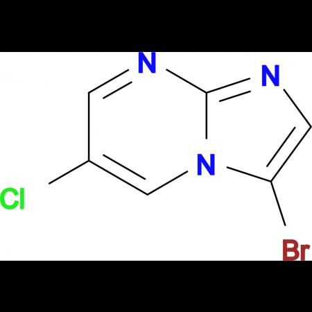 3-Bromo-6-chloroimidazo[1,2-a]pyrimidine