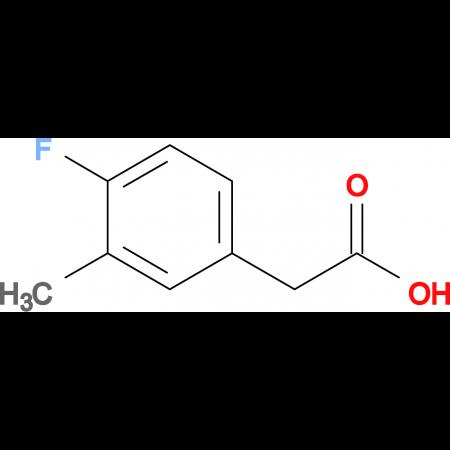 2-(4-Fluoro-3-methylphenyl)acetic acid