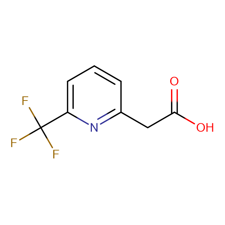 2-(6-(Trifluoromethyl)pyridin-2-yl)acetic acid