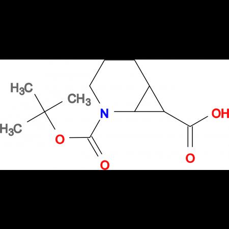 rac 2-Aza-bicyclo[4.1.0]heptane-2,7-dicarboxylic acid 2-tert-butyl ester, mixture of diastereomers