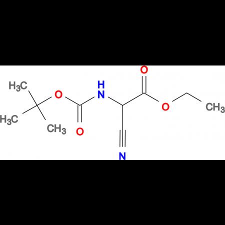 N-Bocamino-cyano-acetic acid ethyl ester