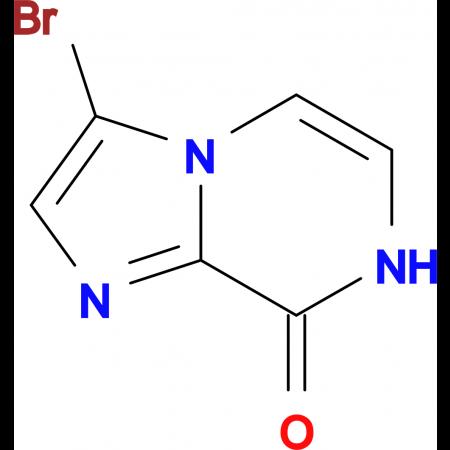 3-bromoimidazo[1,2-a]pyrazin-8(7H)-one