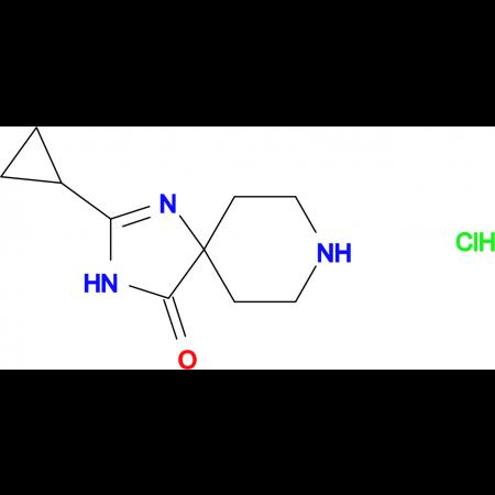 2-Cyclopropyl-1,3,8-triazaspiro[4.5]dec-1-en-4-one hydrochloride