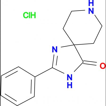 2-Phenyl-1,3,8-triazaspiro[4.5]dec-1-en-4-one hydrochloride