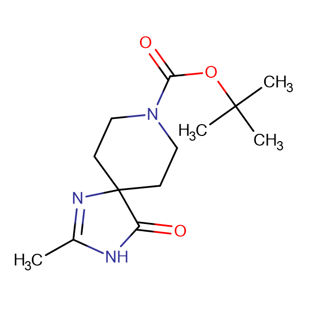 tert-Butyl 2-methyl-4-oxo-1,3,8-triazaspiro[4.5]dec-1-ene-8-carboxylate