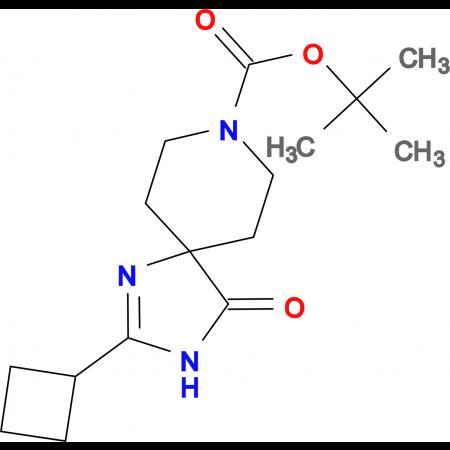 tert-Butyl 2-cyclobutyl-4-oxo-1,3,8-triazaspiro[4.5]dec-1-ene-8-carboxylate