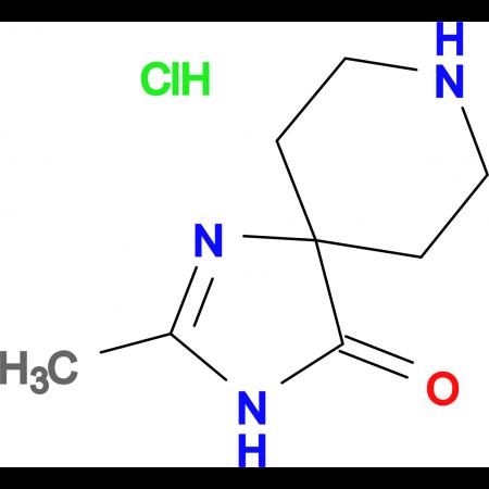 2-Methyl-1,3,8-triazaspiro[4.5]dec-1-en-4-one hydrochloride