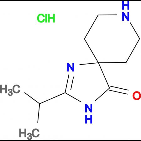 2-Isopropyl-1,3,8-triazaspiro[4.5]dec-1-en-4-one hydrochloride