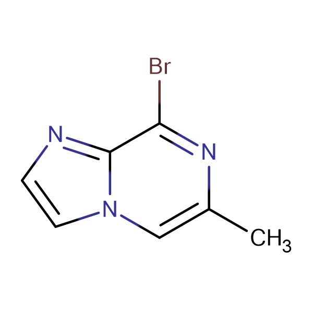 8-BROMO-6-METHYLIMIDAZO[1,2-A]PYRAZINE