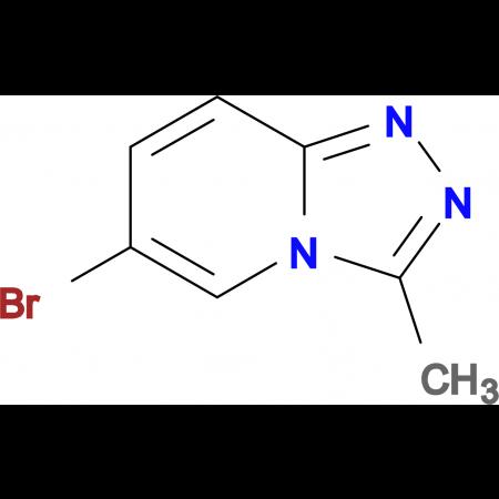 6-BROMO-3-METHYL-[1,2,4]TRIAZOLO[4,3-A]PYRIDINE