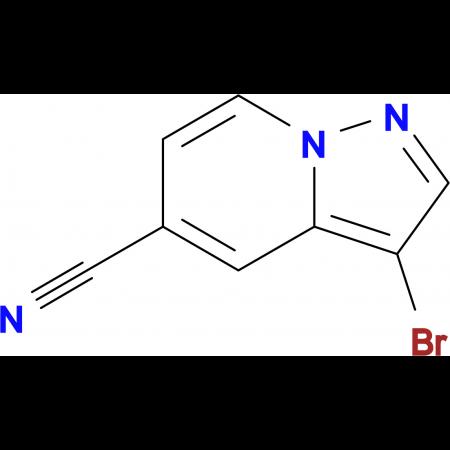 3-BROMOPYRAZOLO[1,5-A]PYRIDINE-5-CARBONITRILE