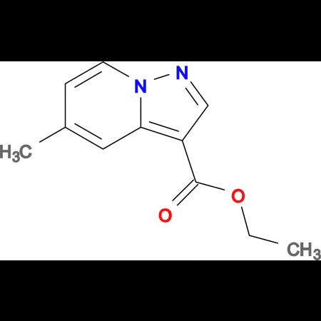 ETHYL 5-METHYLPYRAZOLO[1,5-A]PYRIDINE-3-CARBOXYLATE